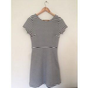 Mod style striped dress - TOPSHOP